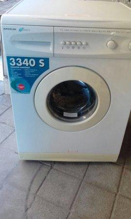 süper temiz çamaşır makinesi