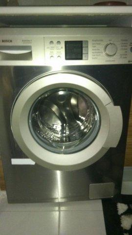 spot 2.el gri çamaşır makinesi