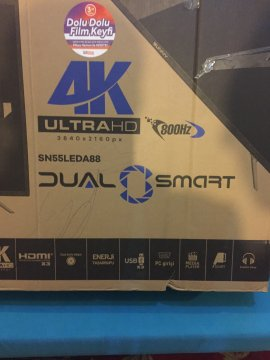 KUTUSUNDA 4K HD TV