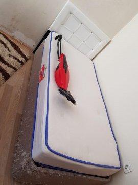 2.el tek kişilik baza başlık ortopedik yatak