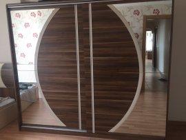 modern koyu renk yatak odası
