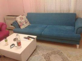 ikinci el mavi kanepe