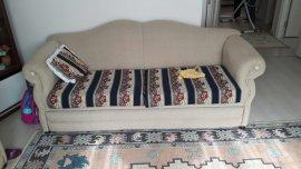 aile için ideal yastıklı 3lü koltuk