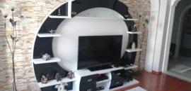 2.el özel cam desenli tv ünitesi