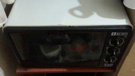 2.el fırın siyah renk
