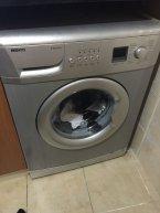 gri 9kg çamaşır makinesi