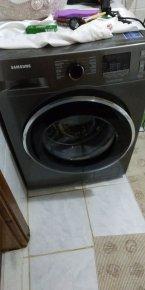 siyah 2el çamaşır makinesi