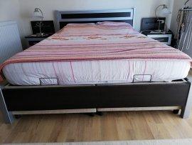 çift kişilik yatak baza başlık