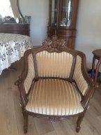 tekli antika sandalye