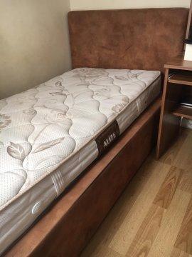baza yatak başlık (güderi ahşap rengi)