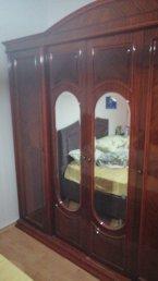 ahşap yatak odası gardolabı