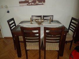 6 sandalyeli yemek masası