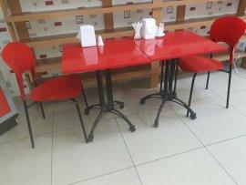 ikinci el kırmızı yemek masası