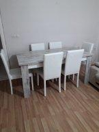 8 sandalyeli yemek masası