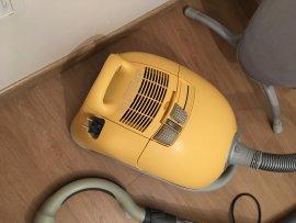 sarı renk 2.el elektrik supurgesi